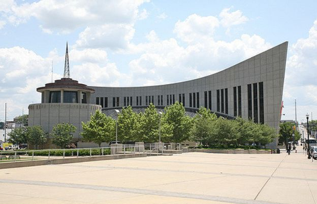 Country Music Hall of Fame and Museum in Nashville, Tennessee. Attaining membership here is the highest honor a country music professional can receive.