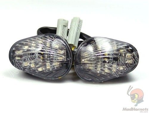 Mad Hornets - Front Indicators Flush Mount LED Turn Signals Yamaha YZF R6 (2006-2009), Smoke or Clear, $24.99 (http://www.madhornets.com/front-indicators-flush-mount-led-turn-signals-for-yamaha-yzf-r6-2006-2009-smoke-or-clear/)