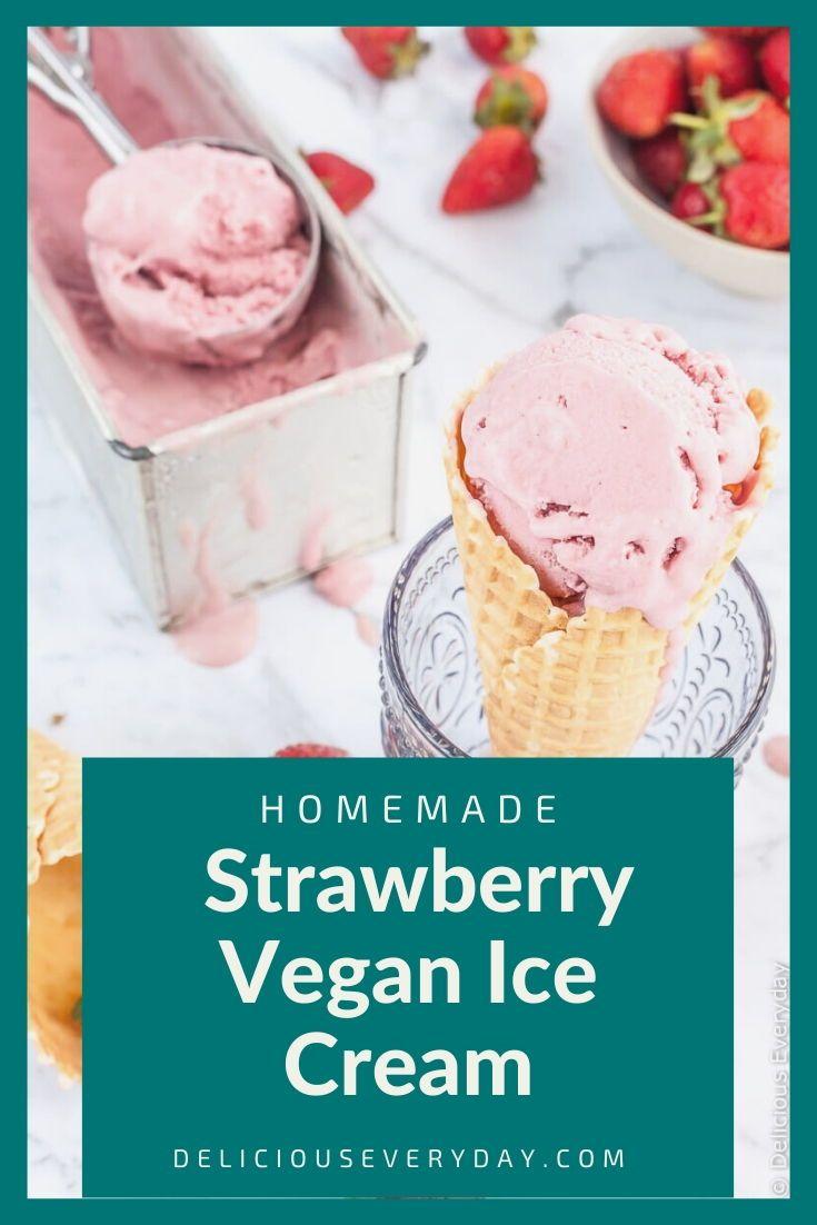Pinterest No Churn Vegan Ice Cream Recipe Easy And Delicious From Coconut Milk Ice In 2020 Coconut Milk Ice Cream Recipe Coconut Milk Ice Cream Vegan Ice Cream Recipe