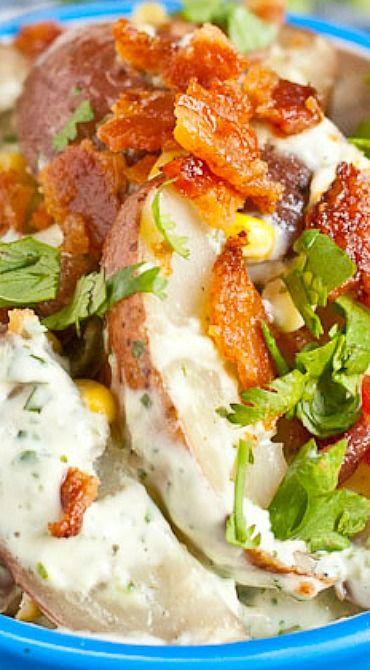 Grilled Jalapeno Potato Salad Recipe — Dishmaps