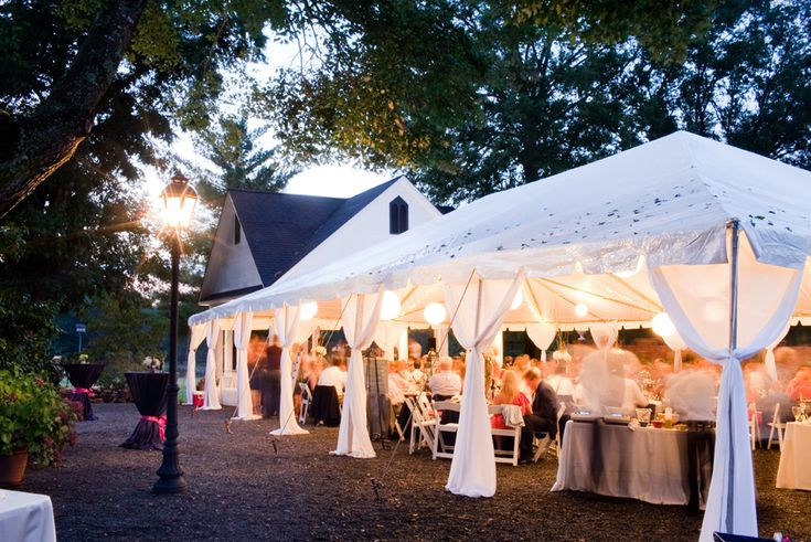 Wedding Tent, Romantic Wedding, Event Tent, Outdoor Tent, Gastonia, NC