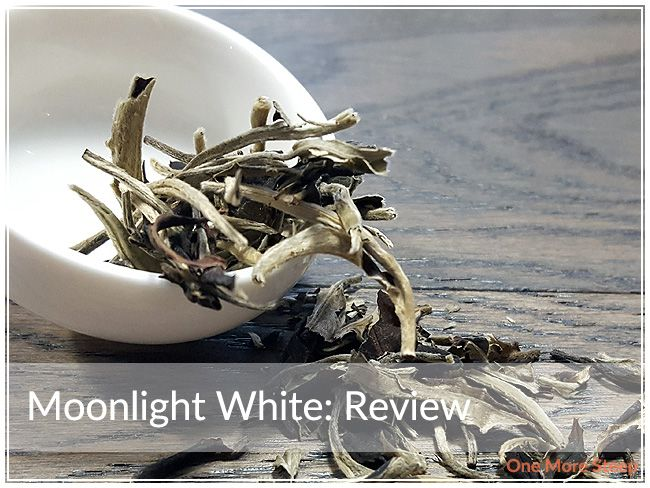 Review of DavidsTea's Moonlight White (a white pu-erh tea) on One More Steep