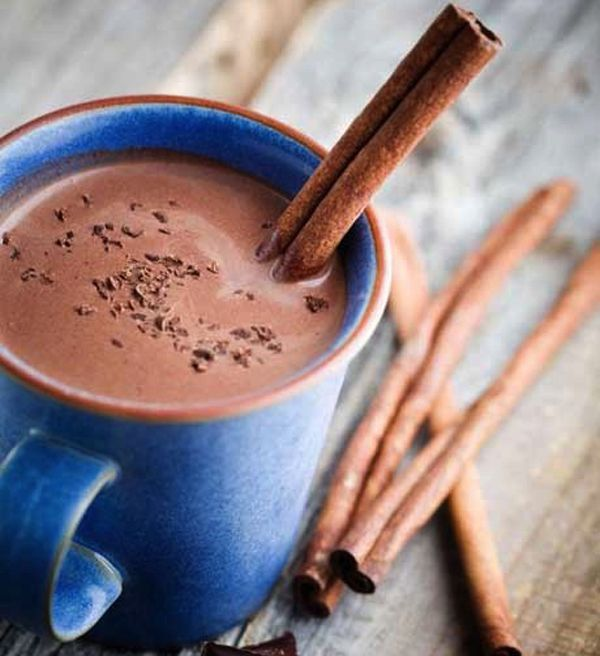 Our #CleanEating Classic #HotChocolate is a perfect for those cold fall evenings!
