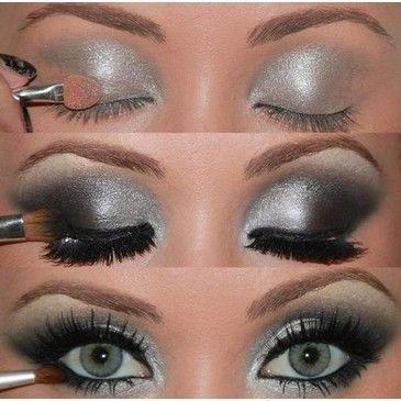 Night look: Pretty Eye, Evening Makeup, Dark Eyes, Sexy Eyes, Eye Lashes, Professional Makeup, Makeup 3, Prom Makeup, Night Makeup