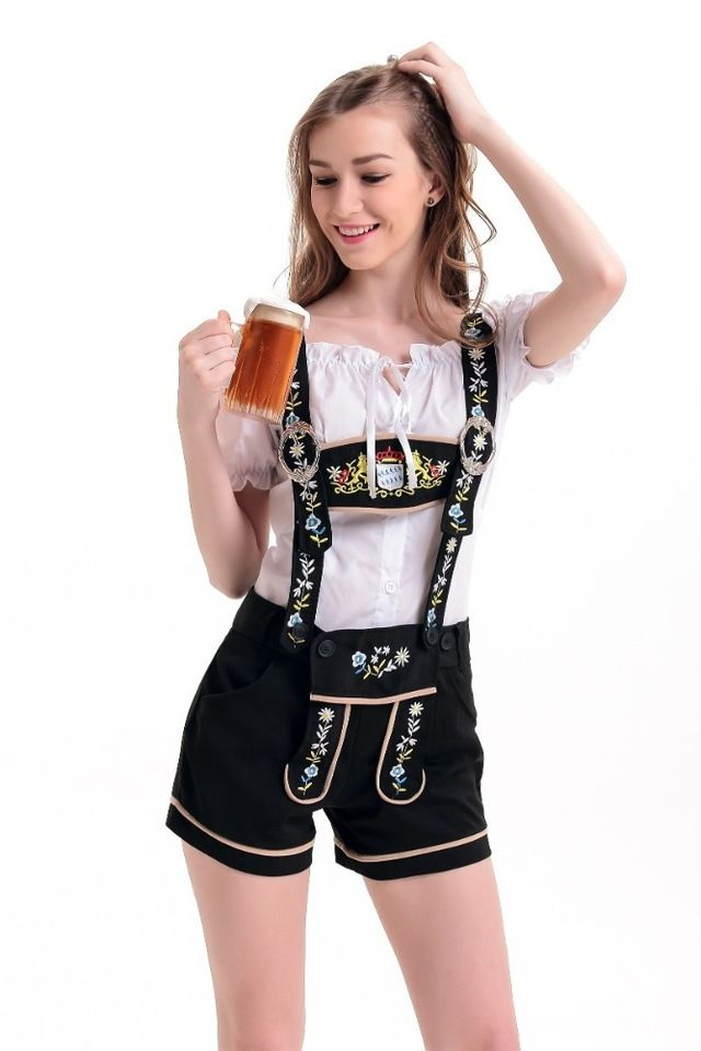 2017 Walson Ladies Oktoberfest Costume German Beer Maid Woman
