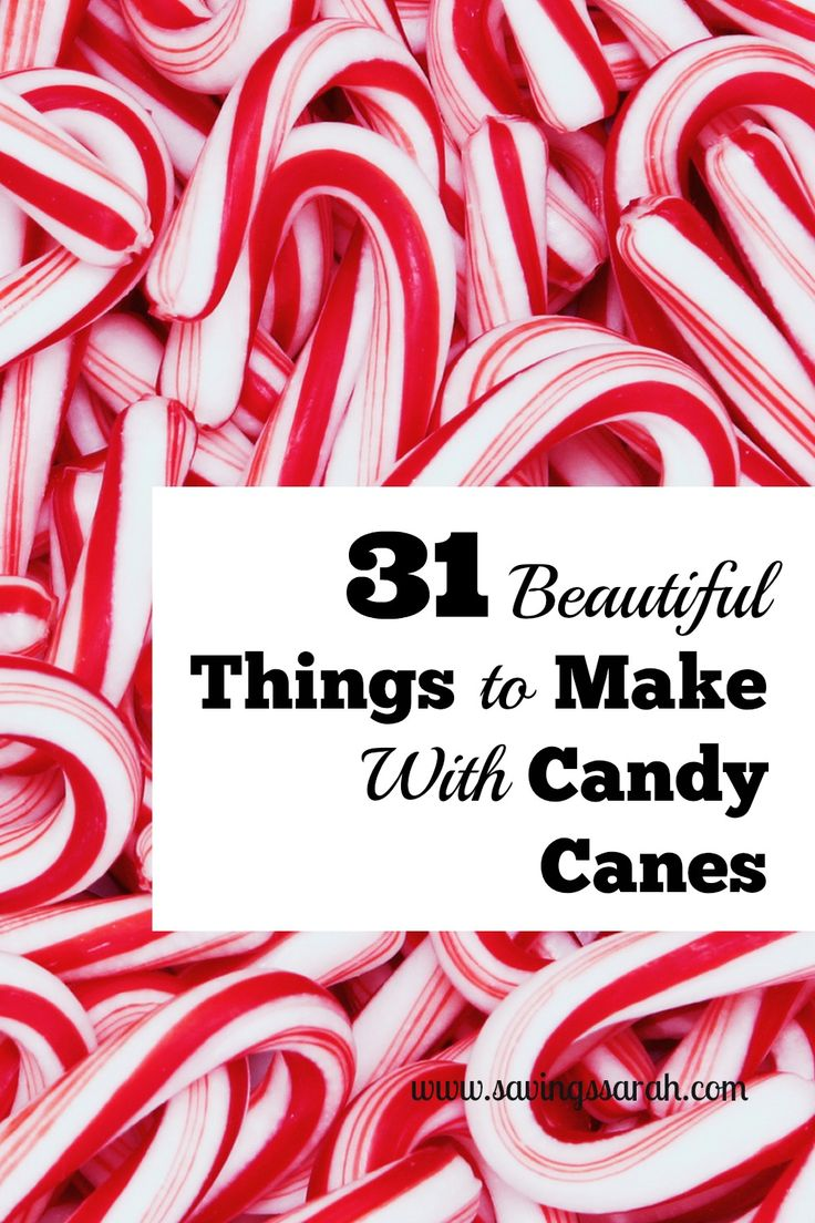 Looking for fun Christmas crafts and eats that won't blow your budget. Check out these 31 Awesome Things to Make With Candy Canes.