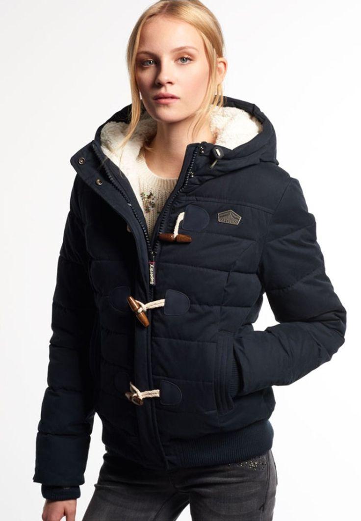 Superdry TOGGLE PUFFER Veste d'hiver navy prix promo Veste d'hiver Femme Zalando 129.95 €
