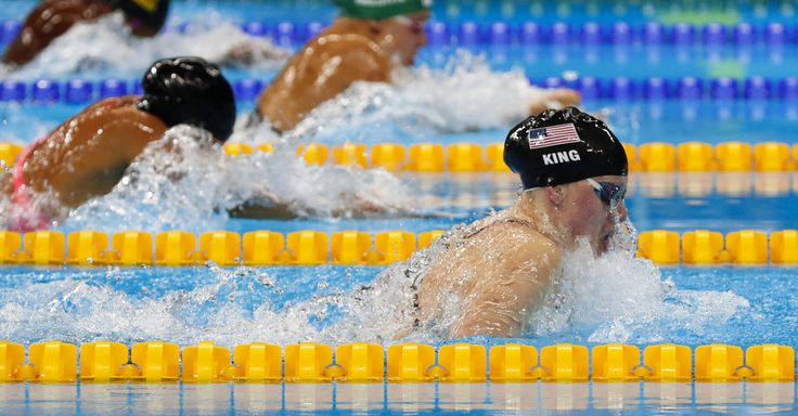 American Lilly King Makes Statement With Olympic Record in 100-Meter Breaststroke