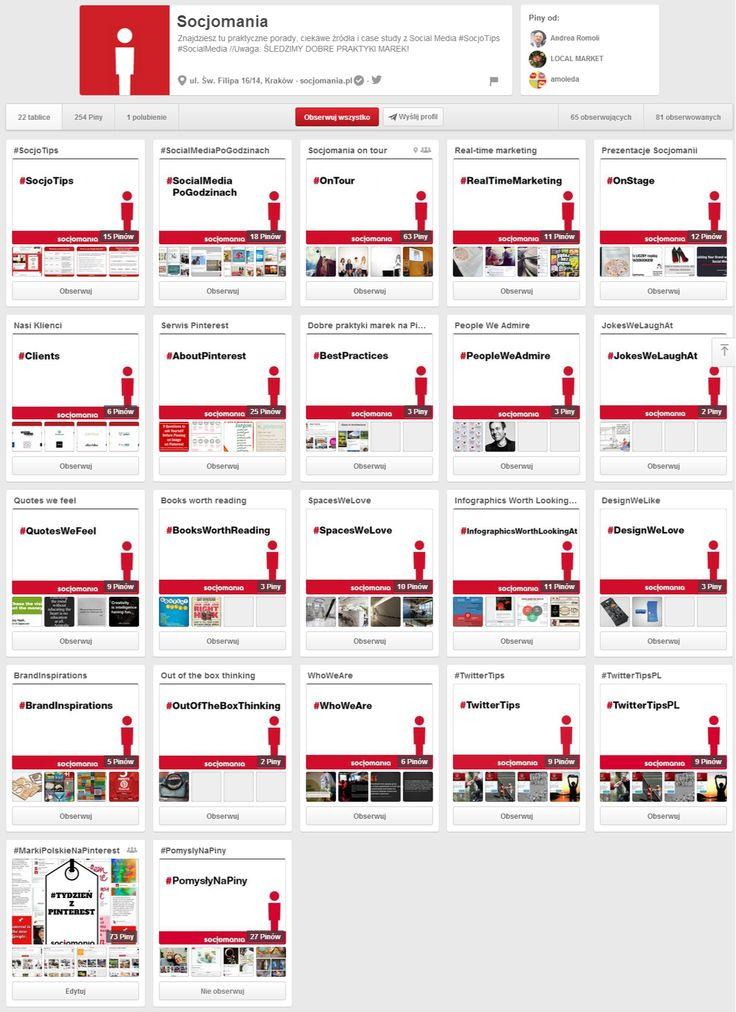 Socjomania na Pintereście- a to znacie? ;) http://www.pinterest.com/socjomania/