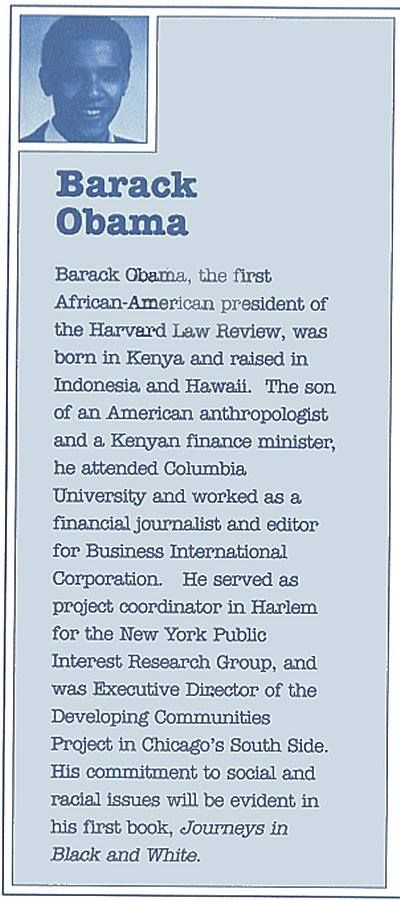 What college did Barack Obama attend?
