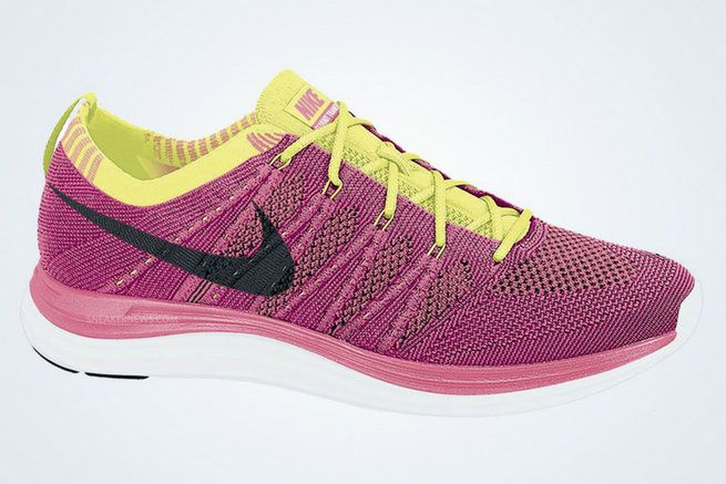 huge selection of 1e003 703e9 Youth Big Boys Nike Flyknit One+ Pink Flash Black Fireberry Volt 554888 606