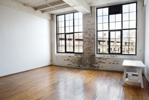 Studio Apartment Exposed Brick Warehouse Building