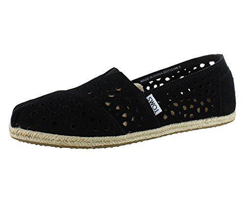 TOMS Women's Classics Moroccan Cutout Shoe Black Size 5 B(M) US TOMS http://www.amazon.com/dp/B00IXSB7BC/ref=cm_sw_r_pi_dp_jJfvvb0WJ4ZXT