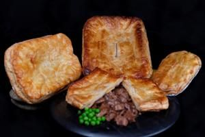 Scottish Steak and Kidney Pie... It's all in the crust.  Anyone can make the filling, but the flaky, layered pastry is the key to an amazing pie.