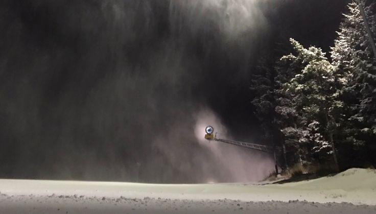 Ski Areál Kopřivná - kouzlo zasněžování