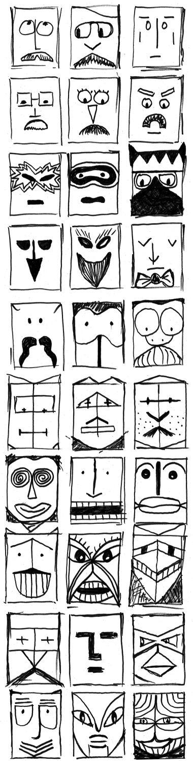 """MASK Dessin d'étude pour Le Quai Angers Affiche """"Chat en Poche"""" de Georges Feydeau par Solange ABAZIOU d'après Saul Steinberg http://soyou.fr/"""