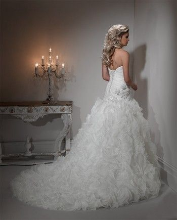 Maggie Sottero Strapless Ball Gown