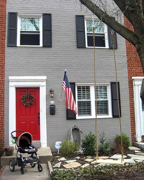 1000 Ideas About Red Door House On Pinterest Dark Trim Home Styles Exterior And House Styles
