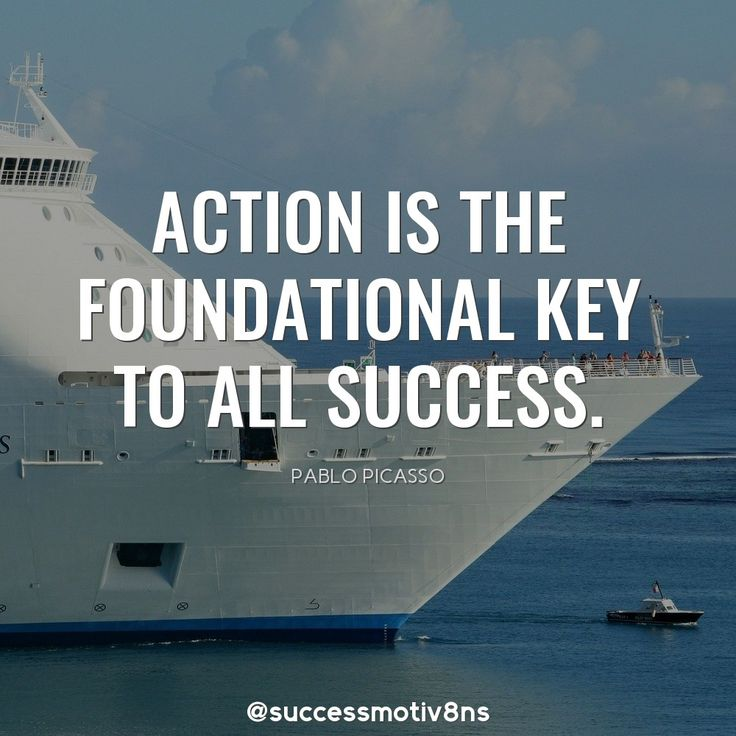 Action is the foundational key to all success.  Share it with your friends and family if you agree!  Follow us for more!  ❤  #lifequote #success #successquotes #successful #motivation #motivationalquotes #motivational #motivationmonday #attraction #inspiration #inspirationalquotes #positivevibes #nature #quote #quotes #quoteoftheday #quotesoftheday #quotestoliveby