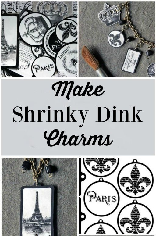 This is so cool! I had no idea that you could make such pretty charms, and jewelry, from Shrinky Dinks!