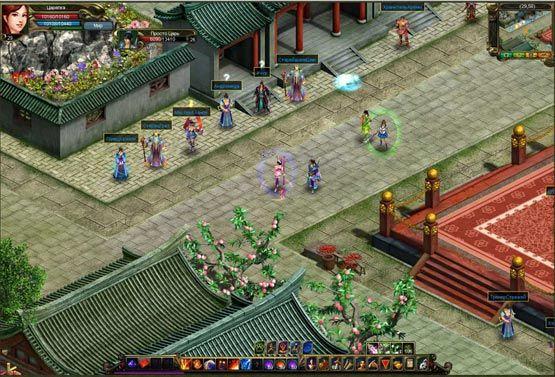 Скриншот из онлайн игры номер один