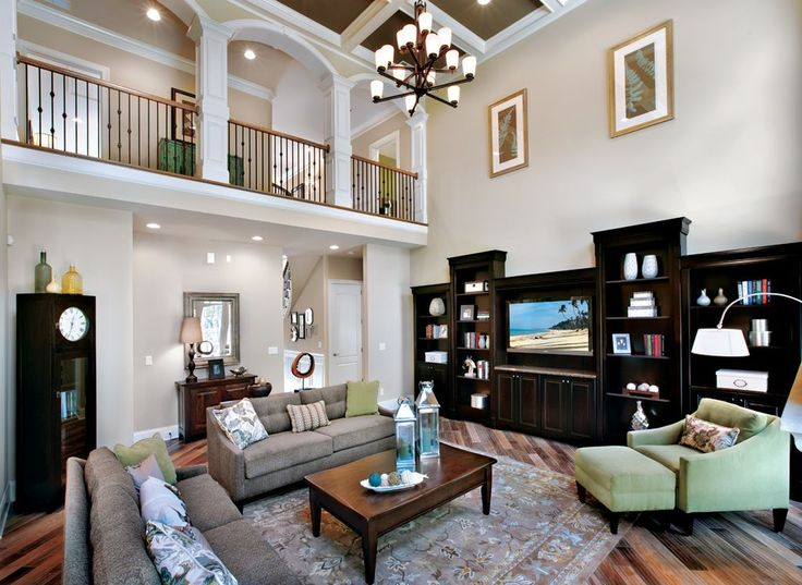 Transitional Living Room | Design your own home, Home ...