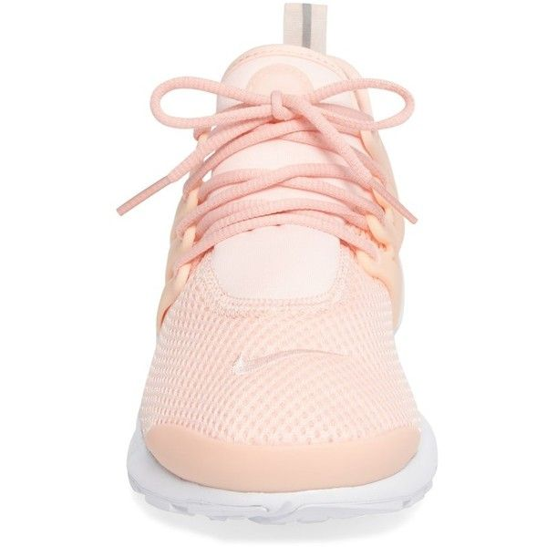 Women's Nike Air Presto Sneaker ($120) ❤ liked on Polyvore featuring shoes, sneakers, nike trainers, retro shoes, breathable sneakers, stretch sneakers and cocktail shoes