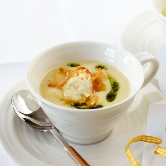 Sellerie-Cremesuppe