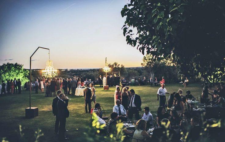Iluminación - Montealegre - finca bodas Madrid - http://www.buscabodas.com