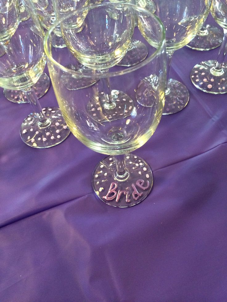 purple themed bridal shower%0A Wine and cheese theme party and the glasses were favors      We added
