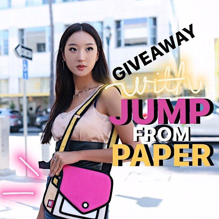 International Giveaway! – Koreanmodel x Esther Oh  •  @koreanmodel and @iamestheroh are partnering with Taiwan based bag brand @jumpfrompaper to give a chance to 3 lucky winners in winning their bags.