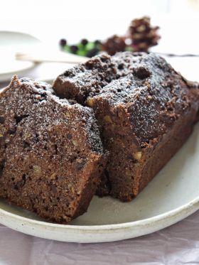「【バレンタイン】アーモンドチョコパウンド」HAZKI | お菓子・パンのレシピや作り方【corecle*コレクル】