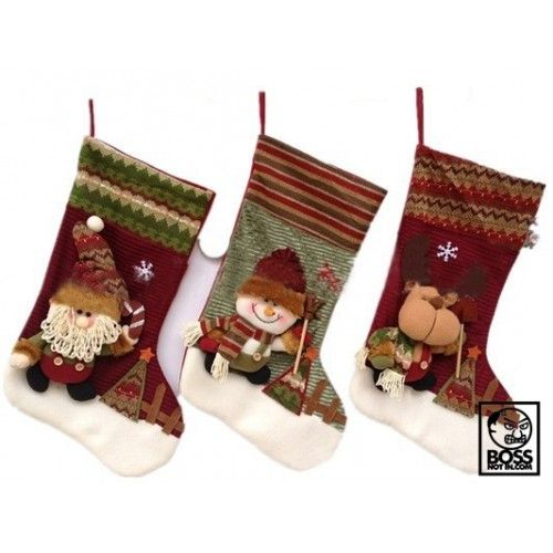 Knitted Christmas Sock - Special Deals