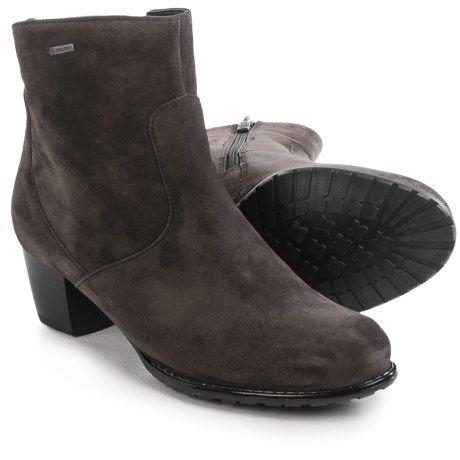 Ara Felicity Gore-Tex® Boots - Waterproof, Suede (For Women) in Dark Grey Suede