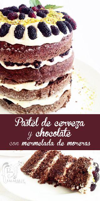 Paladares {Sabores de nati }: Pastel del día Nacional del Chocolate - [Lorraine Pascale]