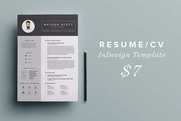Resume/CV by nathan.parry on @creativemarket