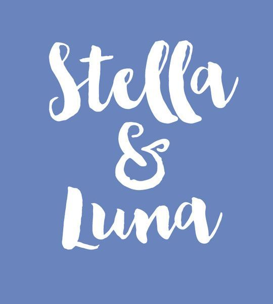 Stella & Luna - Baby Names That Are Perfect for Twins - Photos