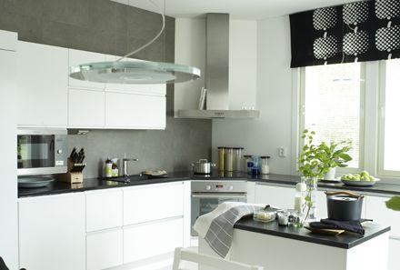 Unelmien keittiö modernin tyylin ystävälle.