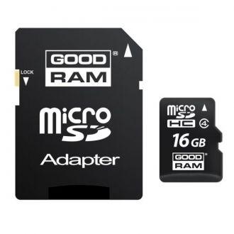 Goodram Karta pamięci SecureDigitalCard 16 GB SDHC Class 4