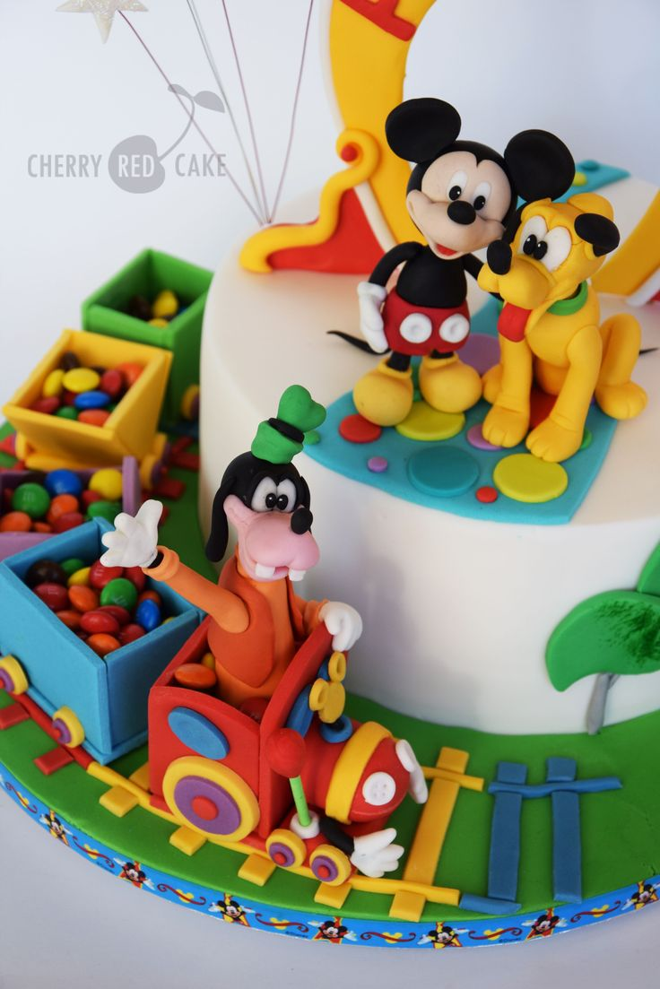 Mickey Mouse Clubhouse Edible Cake Image Topper The Best Cake Of 2018