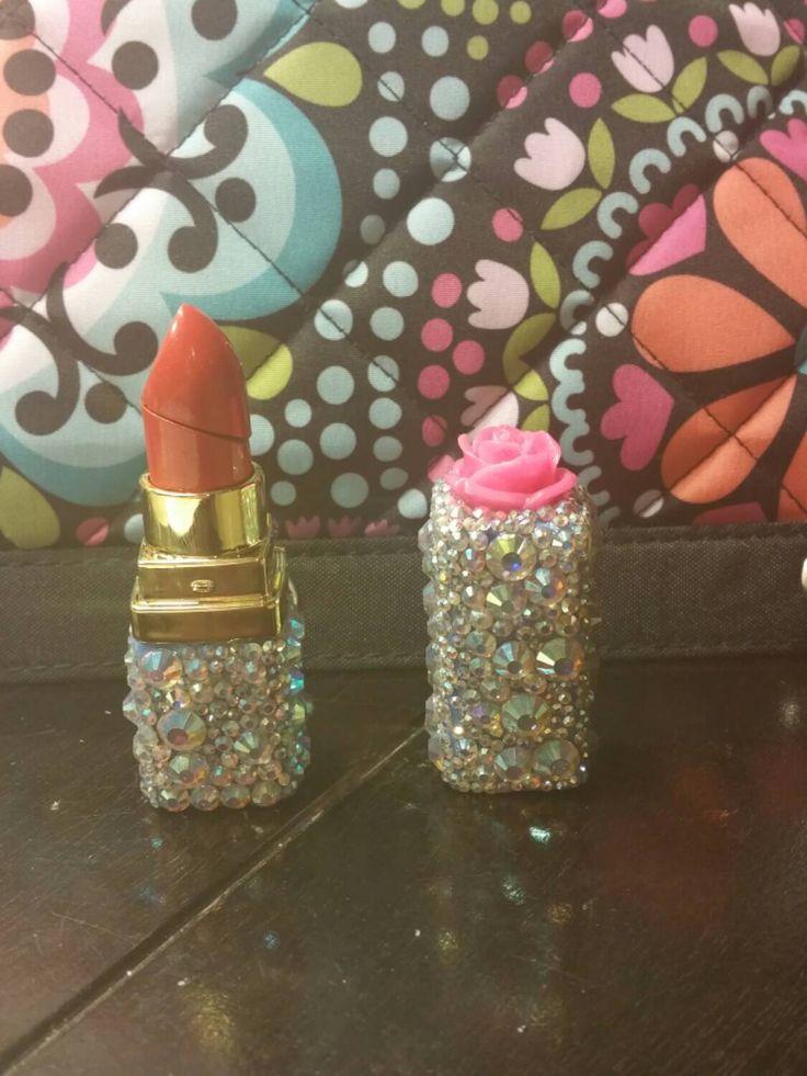 Cute lighter. Bling lighter. Rhinstone lighter. https://www.etsy.com/listing/226143354/bling-lipstick-lighter-refillableback-in