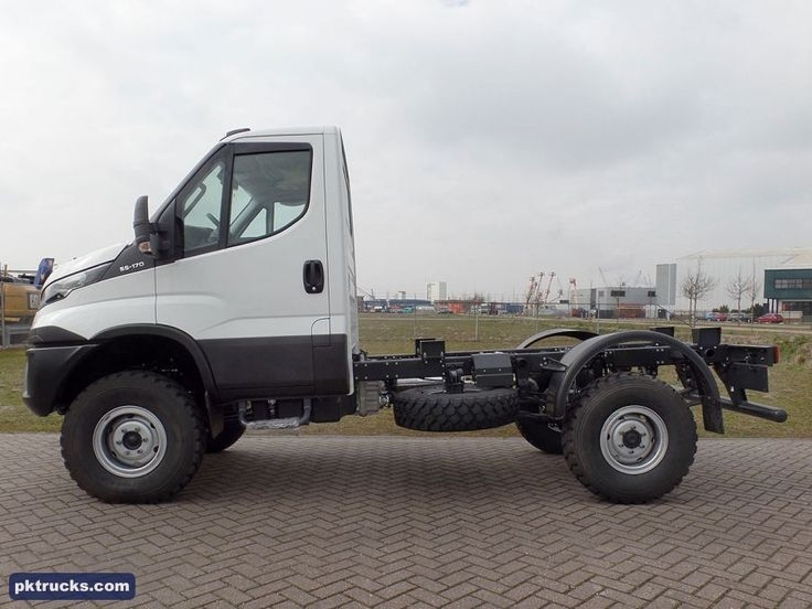 12 units Iveco, DAILY 55-170 Euro-6 4x4 chassis cabin NEW for Sale