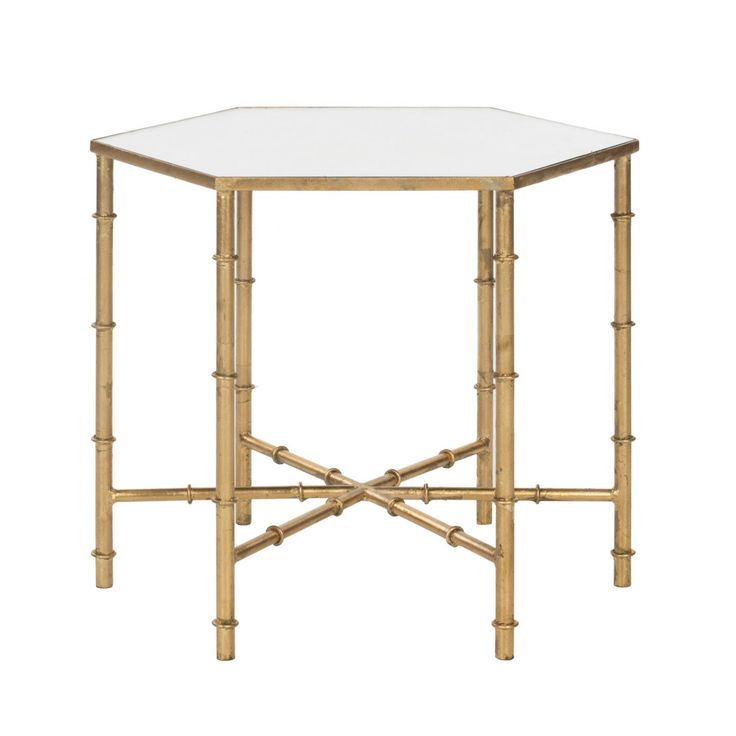 Chinoserie Gets A Contemporary Update For This Lovely Accent Table. The  Bamboo Styled Iron