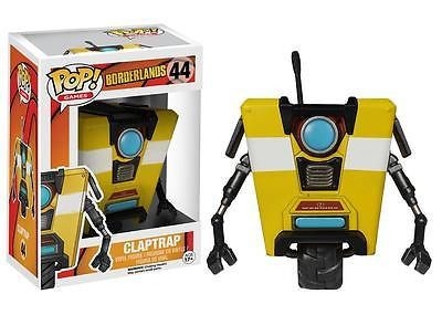 From 2K Games' Borderlands 2 video game, it's Clap Trap! Clap Trap is a CL4P-TP general purpose robot manufactured by Hyperion and he tends to be a little over enthusiastic. Show your enthusiasm for the little guy with the Borderlands Clap Trap Pop! Vinyl Figure, which measures approximately 3 3/4-inches tall.