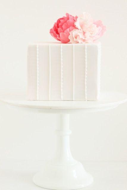 so sweet: Cakes Desserts, Squares Cakes, White Squares, Naomi Cakes, Hello Naomi, White Cakes, Squares Modern Wedding Cakes, Bridal Shower Cakes, Sweet Cakes