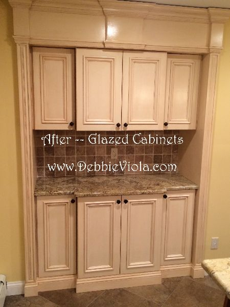 17 best ideas about off white cabinets on pinterest off - Off white cabinets with chocolate glaze ...