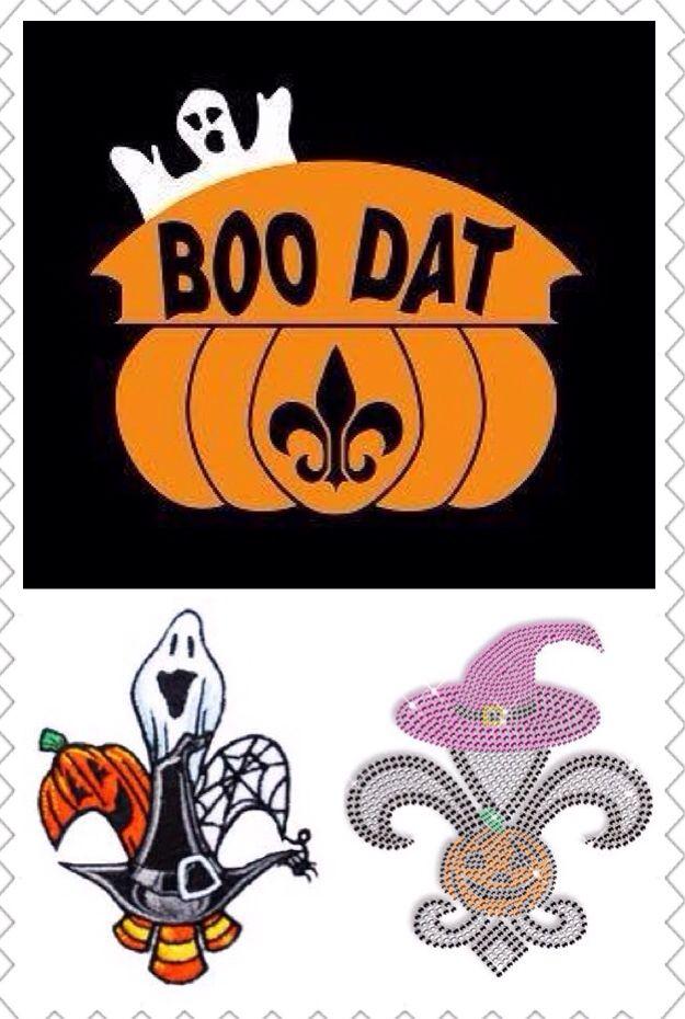 Halloween Fleur De Lis New Orleans Saints Pinterest