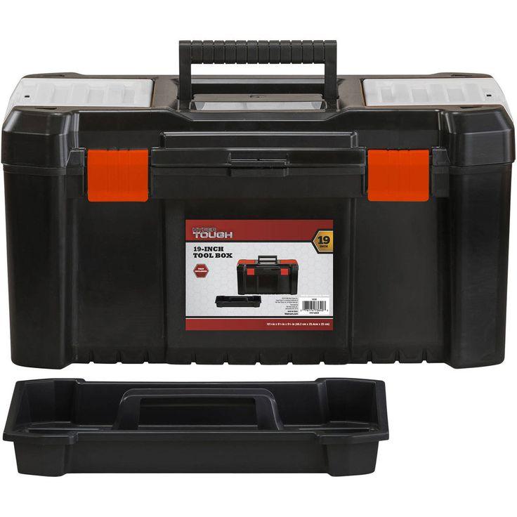 Portable Tool Box Storage Chest Organizer Mechanic Toolbox Cabinet Garage Case #HyperTough