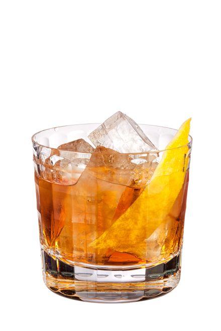to make a plaza antigua use patron anejo tequila, maker's mark bourbon, cognac v.s.o.p., benedictine d.o.m., martini rosso vermouth, peychaud's bitters and garnish
