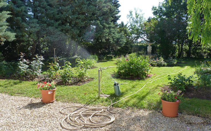 Arrosage des massifs entretien de jardin pinterest for Entretien jardin 92